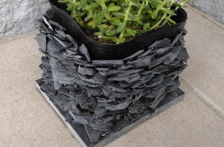鉢植えカバー