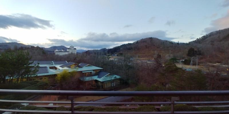 宿泊先の「瑞鳳」から撮影した景色。
