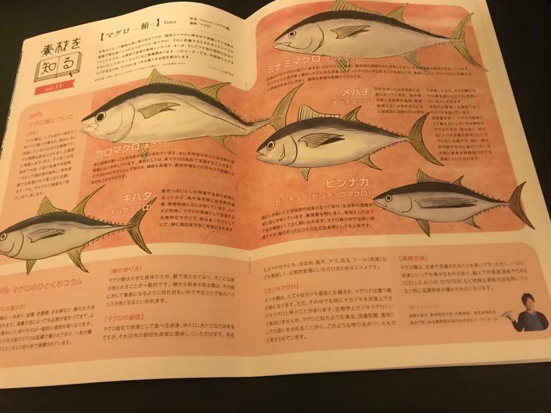 濱幸水産専務のインタビューのほかにも、こんなマグロの種類を紹介するページもあります。ふむふむ、国内に主に流通しているのは5種類のマグロなんですね。
