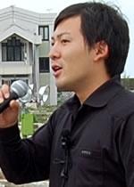 高木優美(まさはる)さん(北いわき再生発展プロジェクトチーム代表)