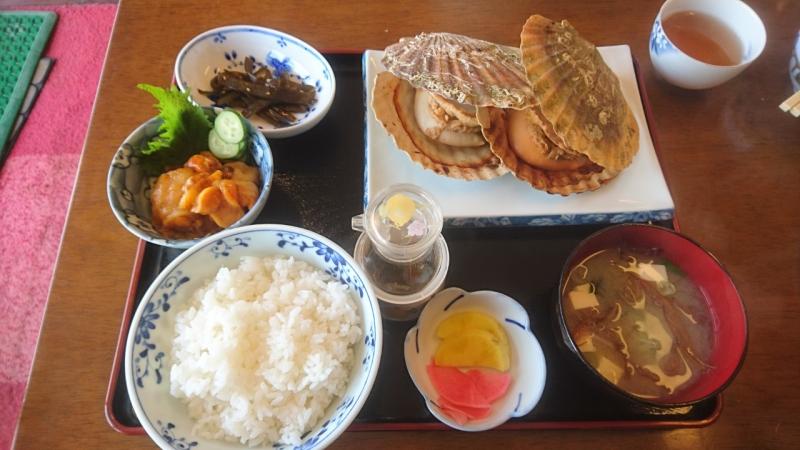 焼きホタテ定食 1,000円~♪