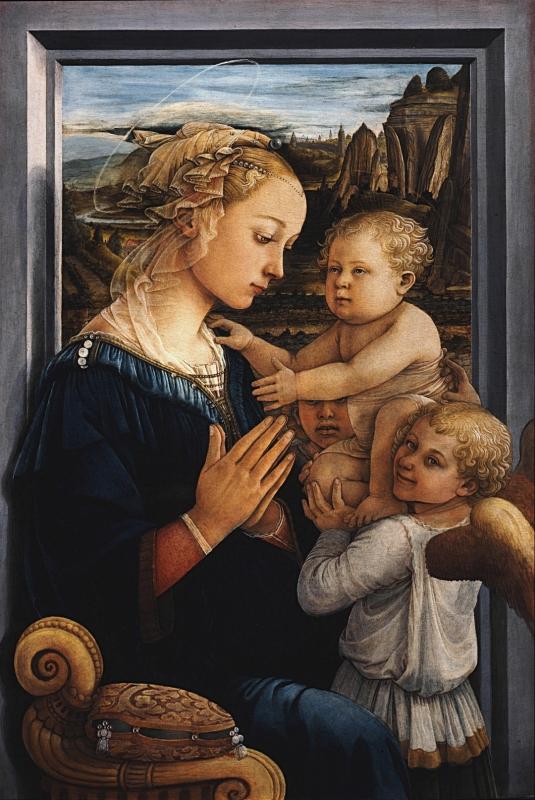 聖母子と天使(フィリッポ・リッピ)