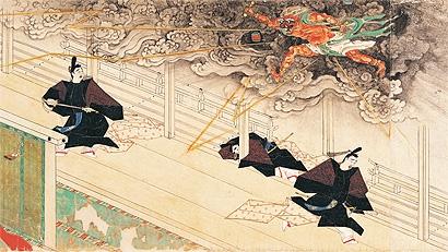 「松崎天神縁起絵巻」(鎌倉時代/応長元年(1311)/重要文化財)