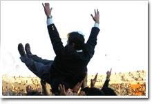 5年目の集大成!最強チームを作り上げ、涙、涙の清宮監督(写真提供:早稲田大学ラグビー蹴球部)