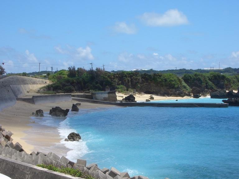 与論島と海