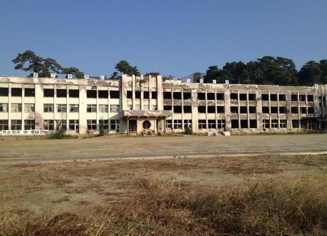 門脇(かどのわき)小学校(2012年10月)