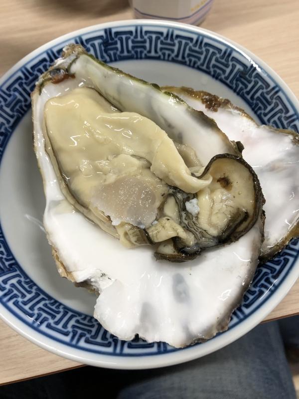 牡蠣が旨い!