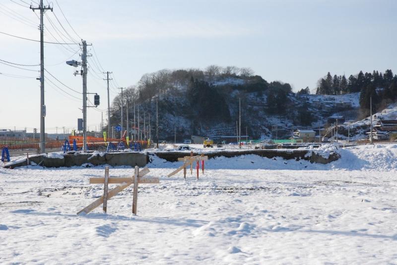 第18共徳丸が撤去された跡地(2014年1月)