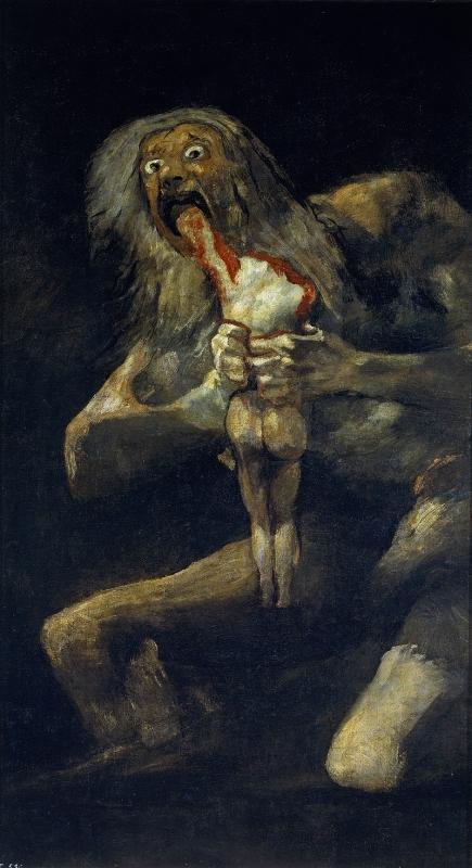 フランシスコ・デ・ゴヤ「我が子を食らうサトゥルヌス」