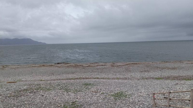 毎年お墓参りの後に海岸を散歩すると、あの行事を思い出すのです。