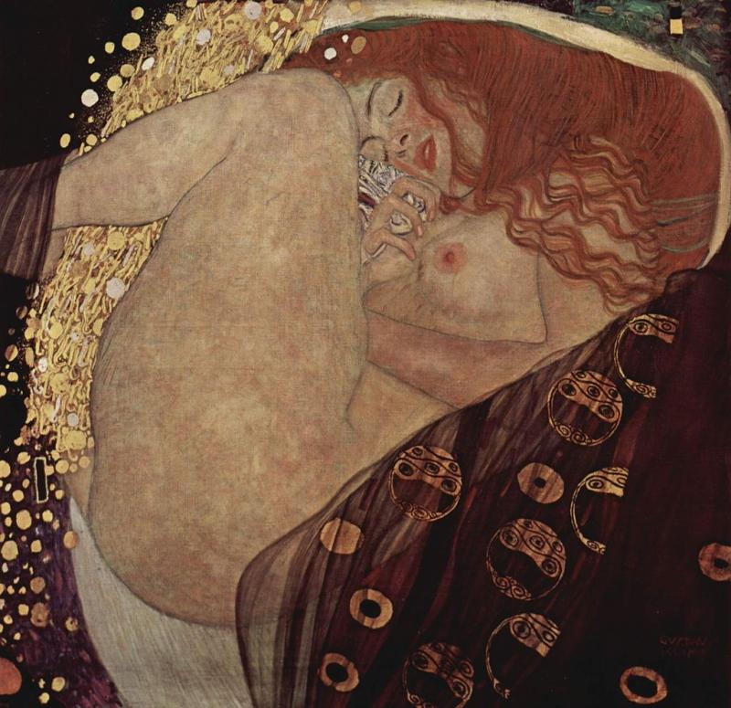 ダナエ(グスタフ・クリムト)1907年 - 1908年