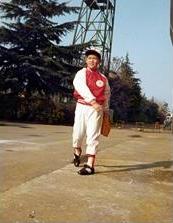 小学5年生で入団したリトルリーグ。当時はそろばんも2級で計算も得意であった。