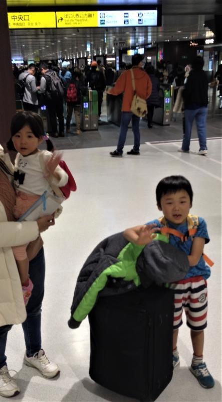 無事仙台駅に到着。すぐに家族と別行動です。