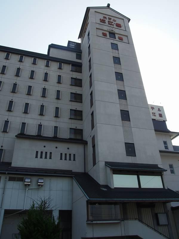 ホテル近江屋。翌朝撮影