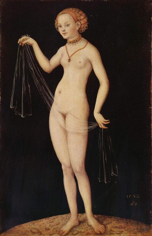 ヴィーナス(ルーカス・クラナッハ)1532年