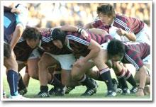 怒涛の猛プッシュ!飛躍的な成長で最強スクラム(写真提供:早稲田大学ラグビー蹴球部)