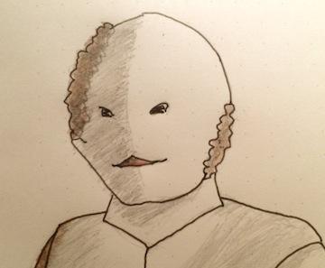 ウルトラセブン 第12話「遊星より愛をこめて」に登場したスペル星人