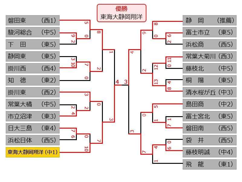 静岡 県 高校 野球 秋季 大会