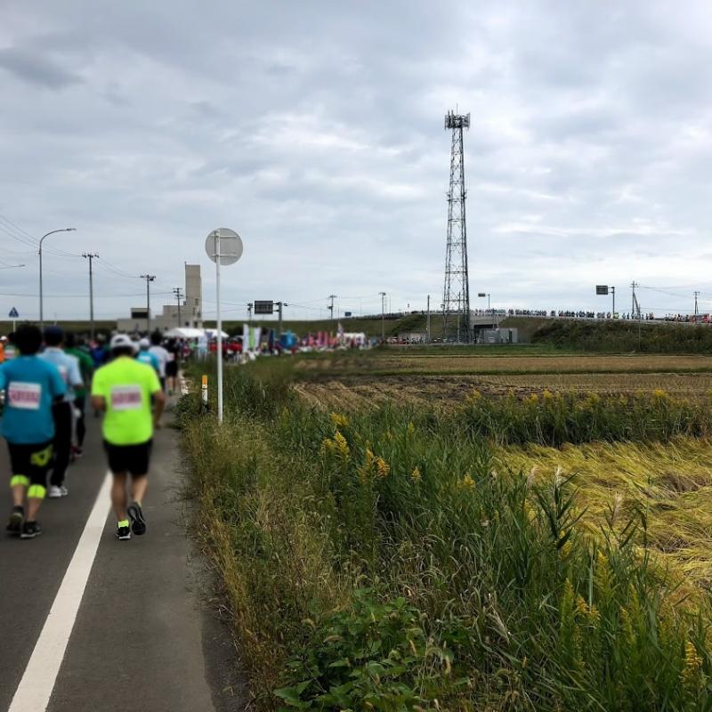 ひたすら走り続ける。42.195kmは長い…