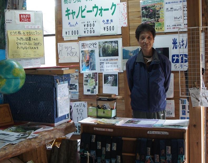 キャノッピのオーナー・中田隆昭さん