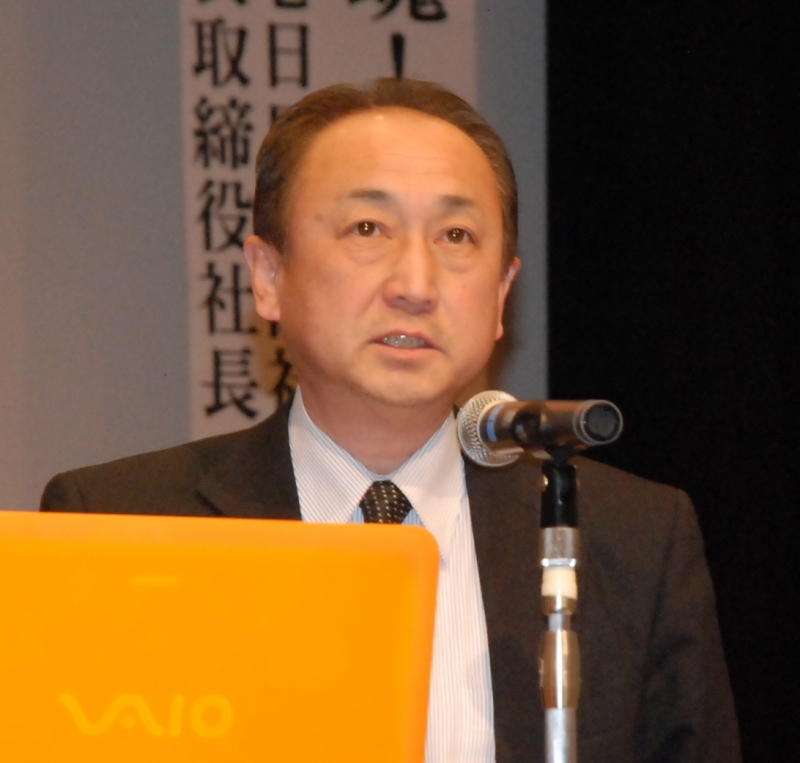 近江弘一さん(株式会社石巻日日新聞社代表取締役社長)
