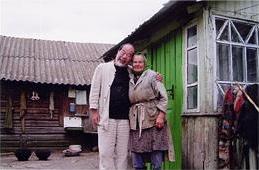 チェルノブイリの放射線汚染地域に子どもたちの検診に行くと、いつもご飯をご馳走してくれるおばあちゃん