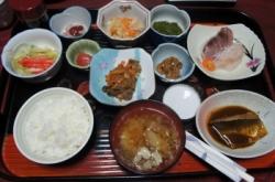 10品以上は登場する夕食!魚介類だけで5種類以上!