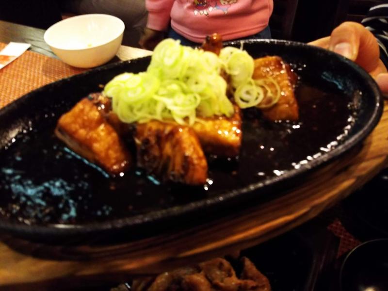 気仙沼はメカジキも有名です。とても柔らかくて美味しかったです!