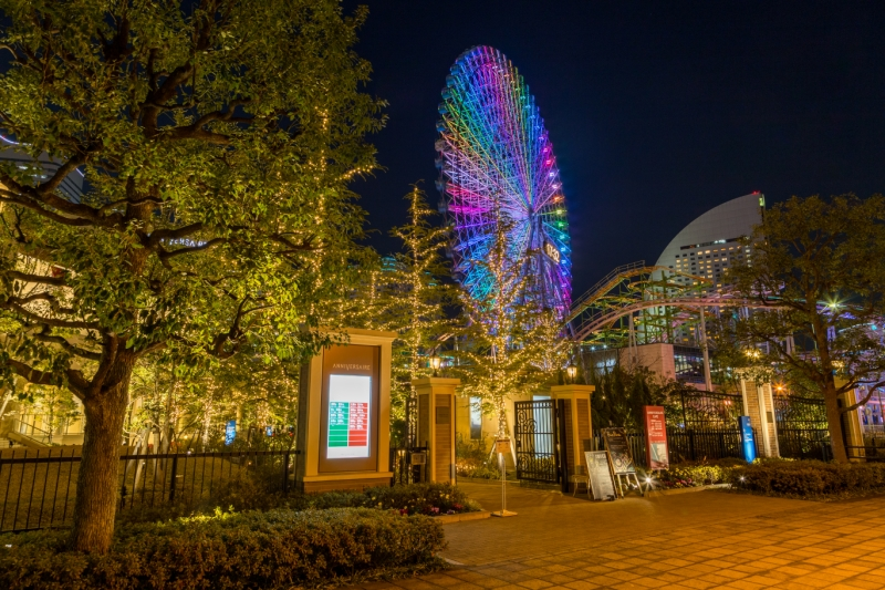 アニヴェルセルみなとみらい横浜の入口の雰囲気