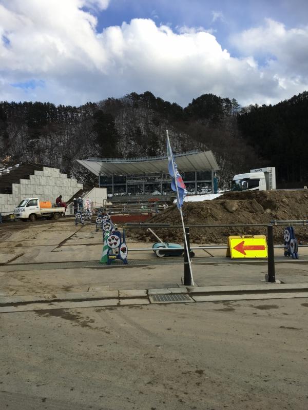 2019年ラグビーワールドカップ開催地の釜石。浸水した旧校舎跡に『釜石鵜住居(うのすまい)復興スタジアム』が建設されています