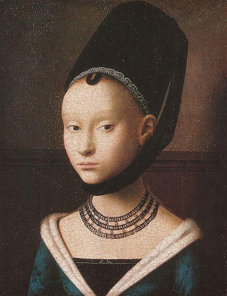 ペトルス・クリストゥス「若い女の肖像」