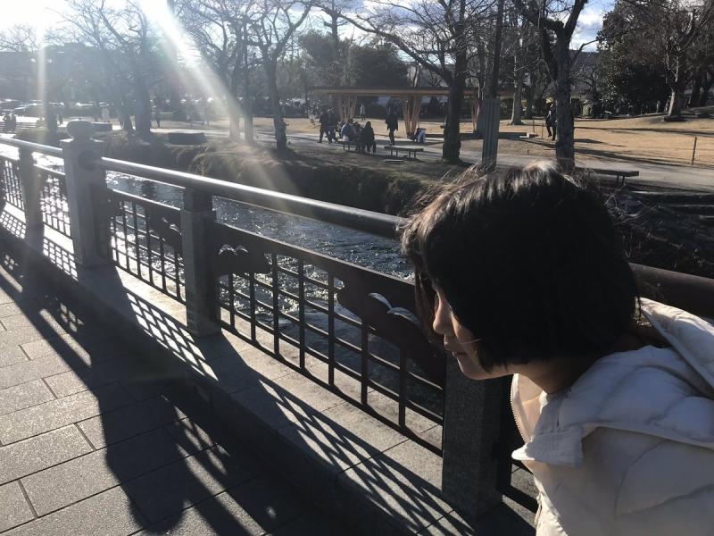 休み中、娘がいちばんいい顔をしたのは富士宮へ焼きそばを食べに行ったこの日でした(*^-^*)