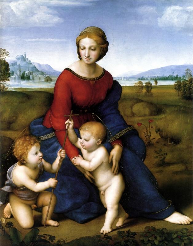 牧場の聖母(ラファエロ・サンティ)