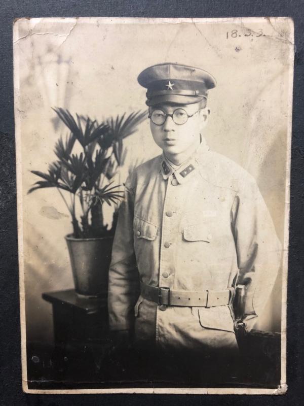 祖父・28歳(昭和18年3月撮影)
