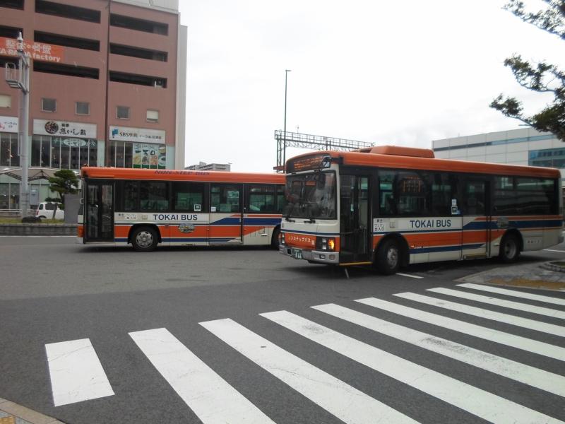 東海バス(旧東海バスオレンジシャトル塗装)