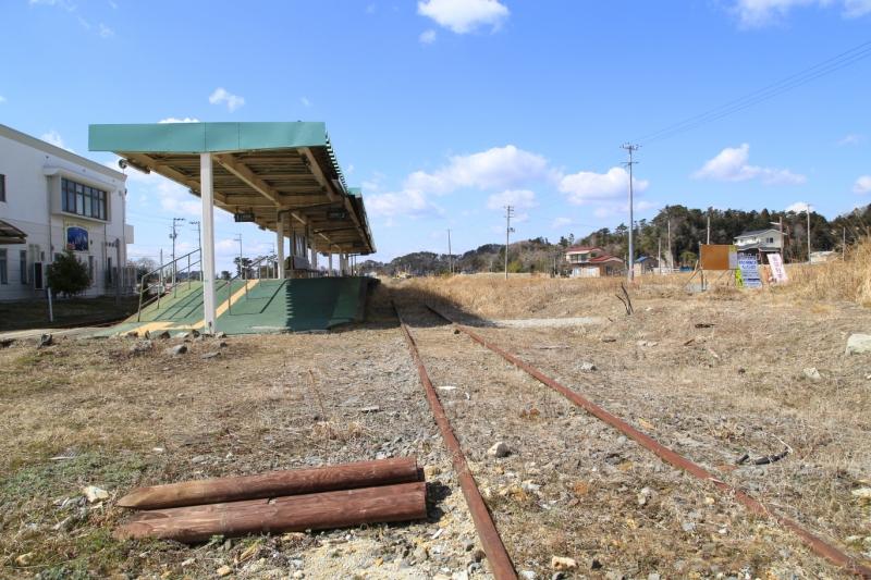 津波で被災した東松島市の旧野蒜駅