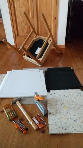 【DIY】椅子の張り替えに挑戦!