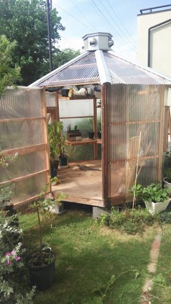 【DIY】 ビニールハウスを作ろう! Part14(完)