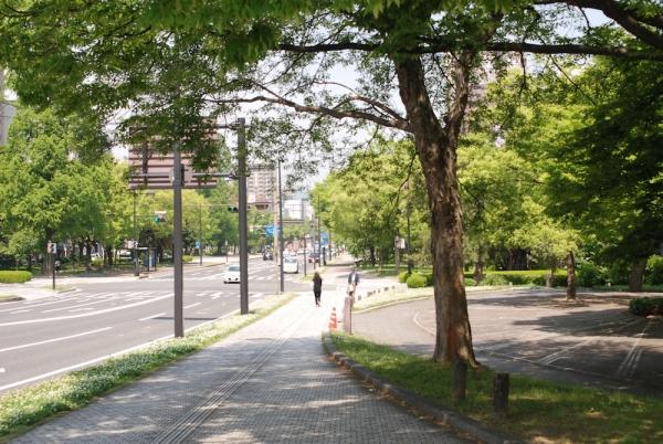 75年は草木も生えぬと言われた広島の大通り