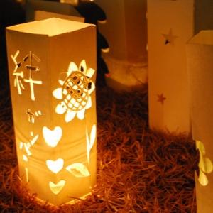 願いの灯りは希望のあかり