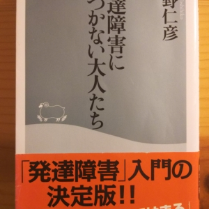 【書籍】 発達障害に気づかない大人たち_星野仁彦