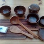 食の安全について考える ~完全無薬剤の木製食器~