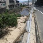 西日本豪雨災害の爪痕 広島市安芸区 ~ちゃっこいメッセージ~