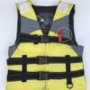 Amazon | ライフジャケット フローティングベスト 救命胴衣 笛付き ホイッスル 反射帯付き 緊急時に役立つ 強い浮力 高い負荷力 安全安心 大人用 海 プール 釣り 海水浴 スイミング 水遊び | NEWROAD | ライフジャケット・フローティングベスト
