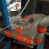 淡水化装置の継手部分から漏水