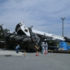 楢葉町のクレーン転倒現場写真が公開される