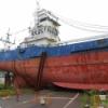 [遺跡と記憶]気仙沼に打ち上げた大型漁船