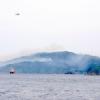 釜石の山林火災で目撃した自衛隊ヘリのヘビーローテーション(2017.05.09)